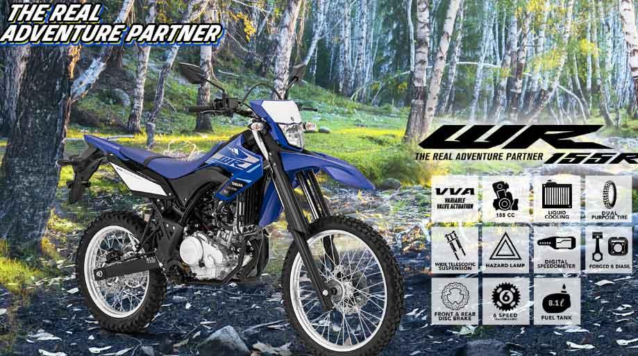 Trail Yamaha WR155R Banjarnegara
